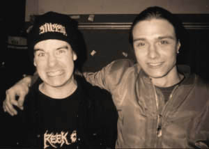 Andreas and Carcass Frontman Jeff Walker